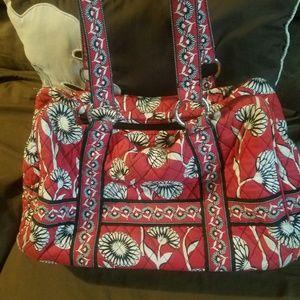 Large Vera Bradley hand bag